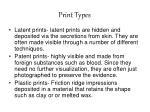 print types