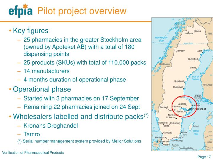Pilot project overview