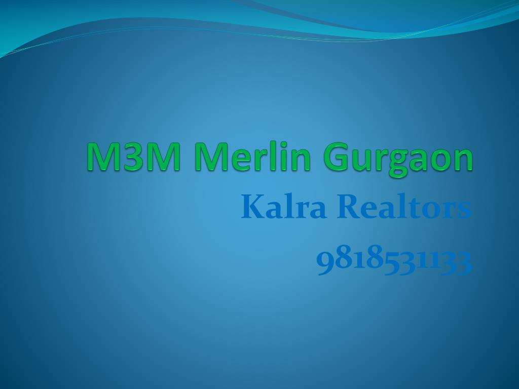 m3m merlin gurgaon l.