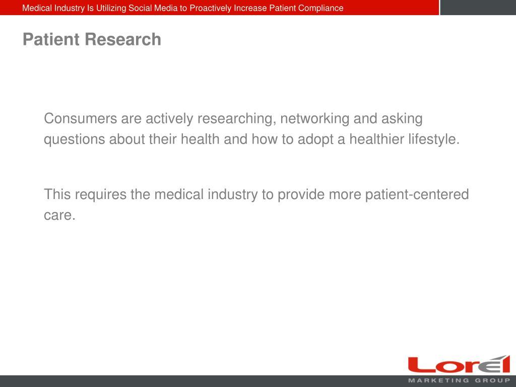 Patient Research