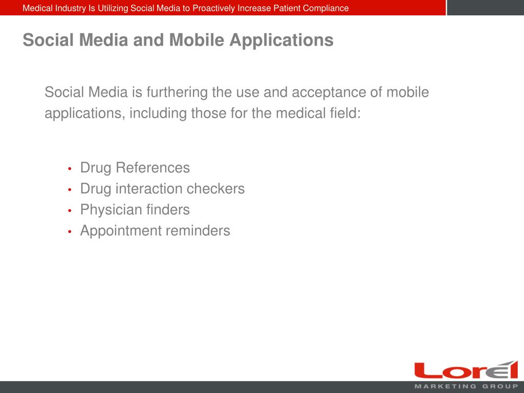 Social Media and Mobile Applications