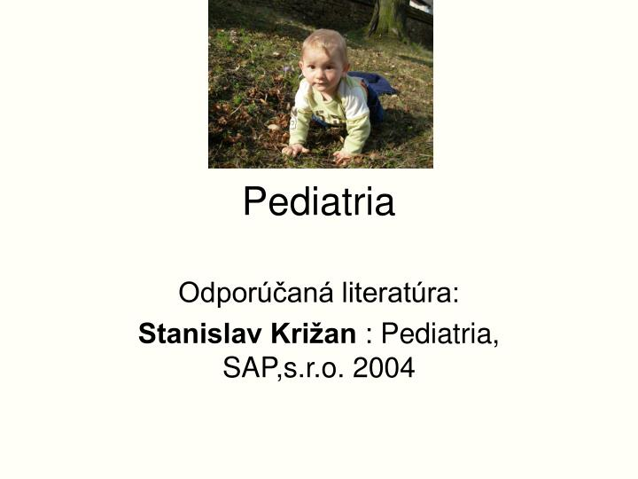 pediatria n.