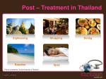 post treatment in thailand
