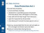 data protection act 2