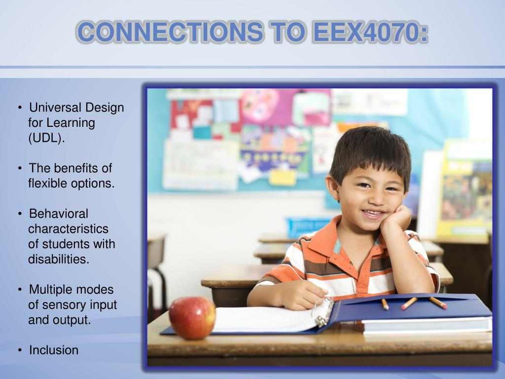 CONNECTIONS TO EEX4070:
