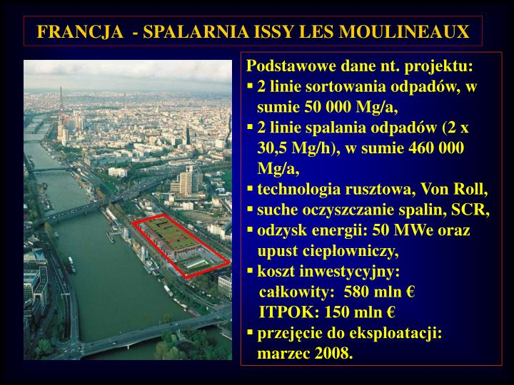 FRANCJA  - SPALARNIA