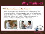 why thailand7