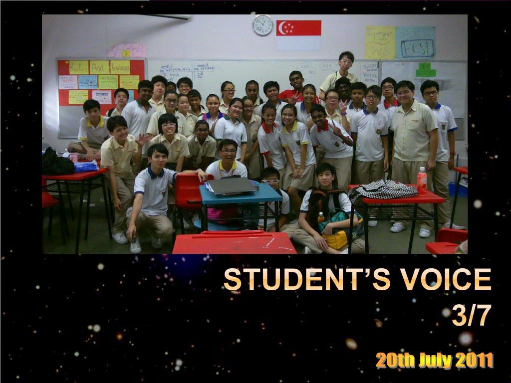 student s voice 3 7 l.