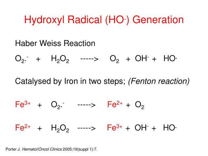 Hydroxyl Radical (HO