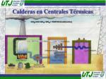 calderas en centrales t rmicas