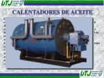 calentadores de aceite