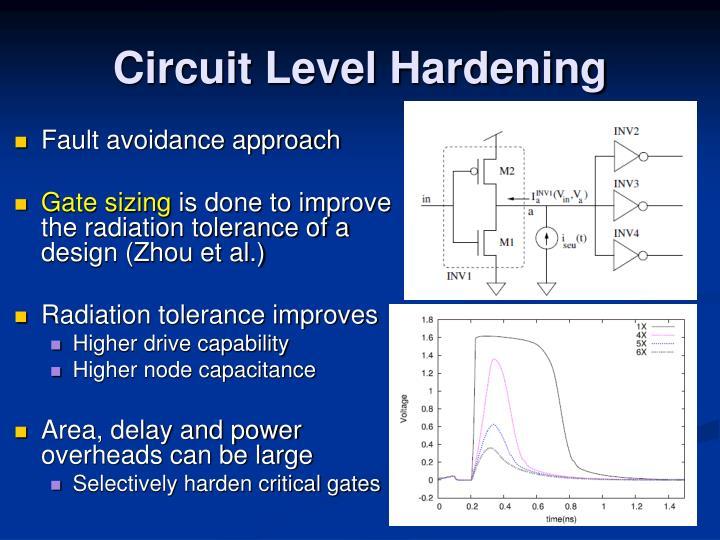 Circuit Level Hardening
