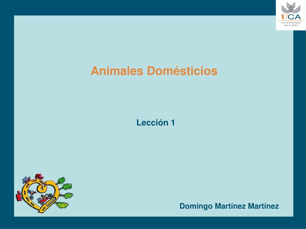 animales dom sticios l.