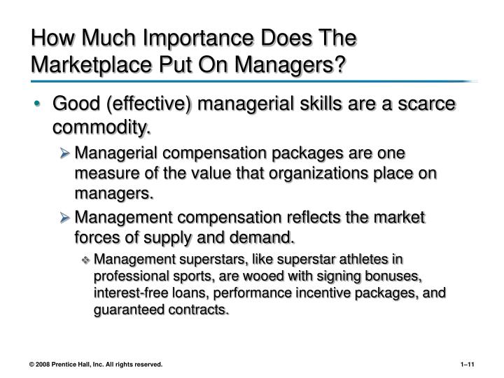 importance of managerial skills