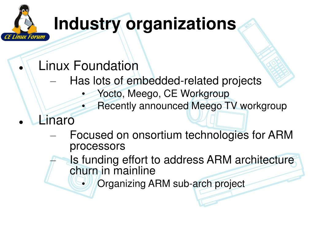 PPT - Status of Embedded Linux PowerPoint Presentation - ID