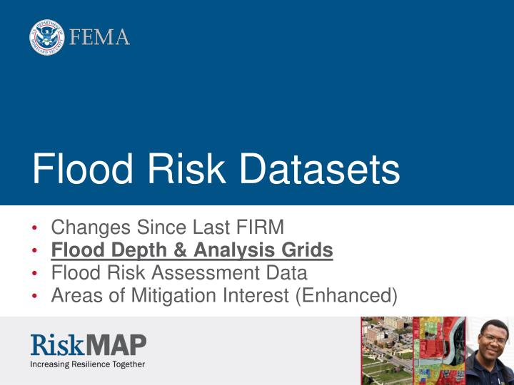 Flood Risk Datasets