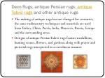 deco rugs antique persian rugs antique tabriz rugs and other antique rugs