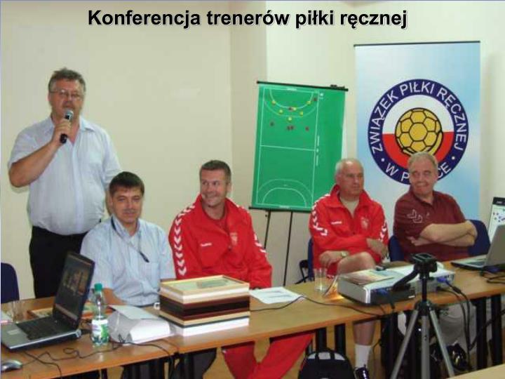 Konferencja trenerów piłki ręcznej