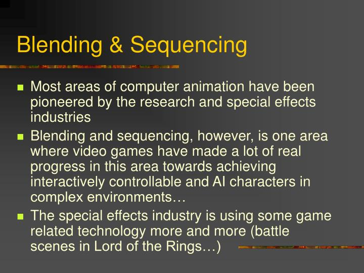 Blending sequencing1