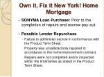 own it fix it new york home mortgage1