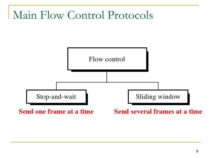 Main Flow Control Protocols