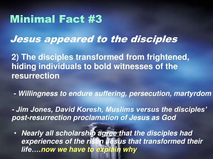 Minimal Fact #3