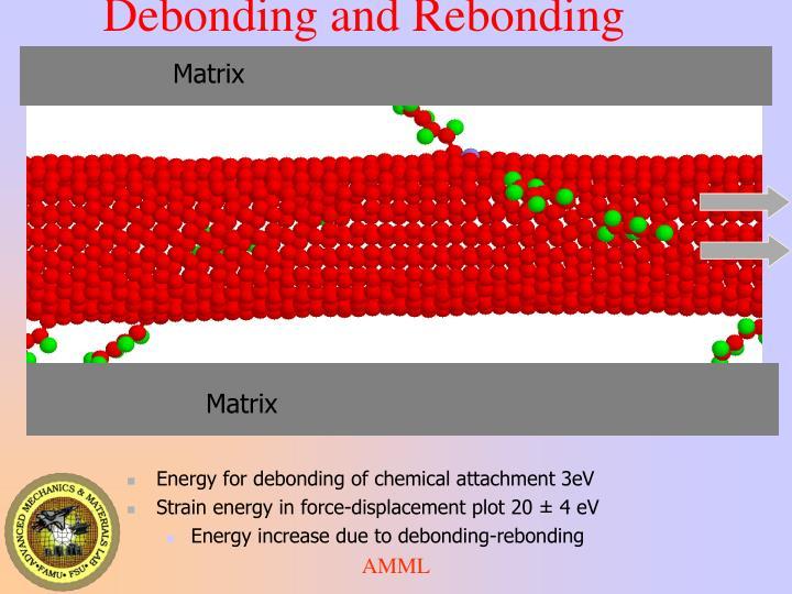 Debonding and Rebonding