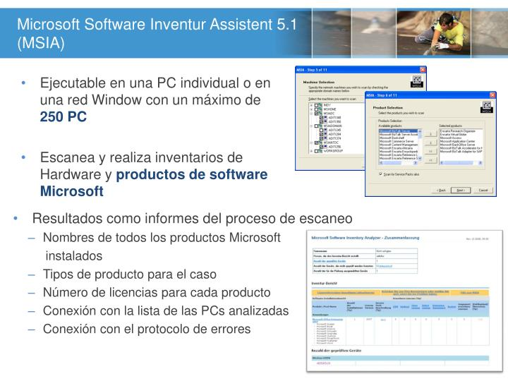 Microsoft Software Inventur Assistent 5.1