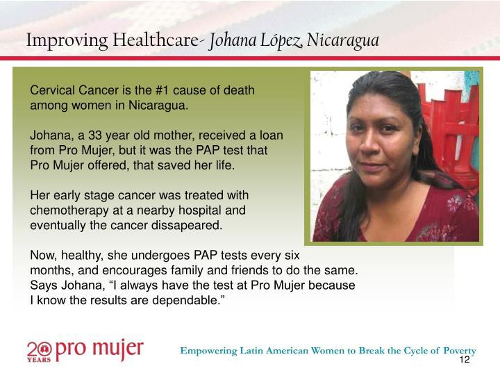Improving Healthcare-