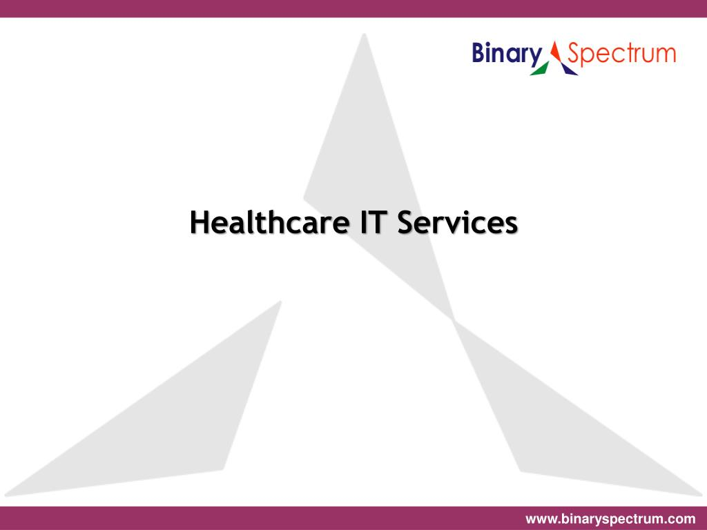 healthcare it services l.