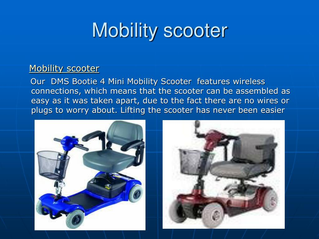 mobility scooter l.