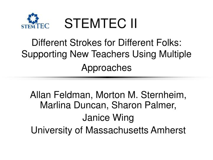 different strokes for different folks supporting new teachers using multiple approaches n.