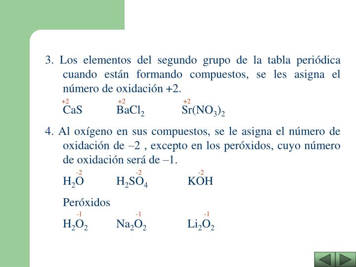 Ppt balanceo de ecuaciones de xido reduccin powerpoint los elementos del segundo grupo de la tabla peridica cuando urtaz Image collections