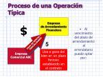 proceso de una operaci n t pica6