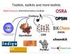 toolkits toolkits and more toolkits1