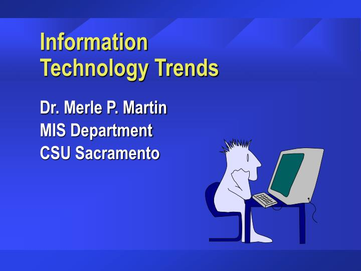 information technology trends n.