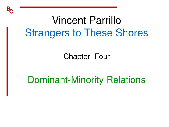 vincent parrillo strangers to these shores n.