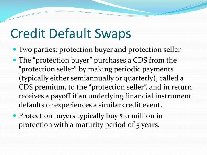 Credit default swaps2
