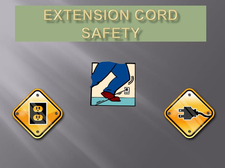 extension cord safety n.