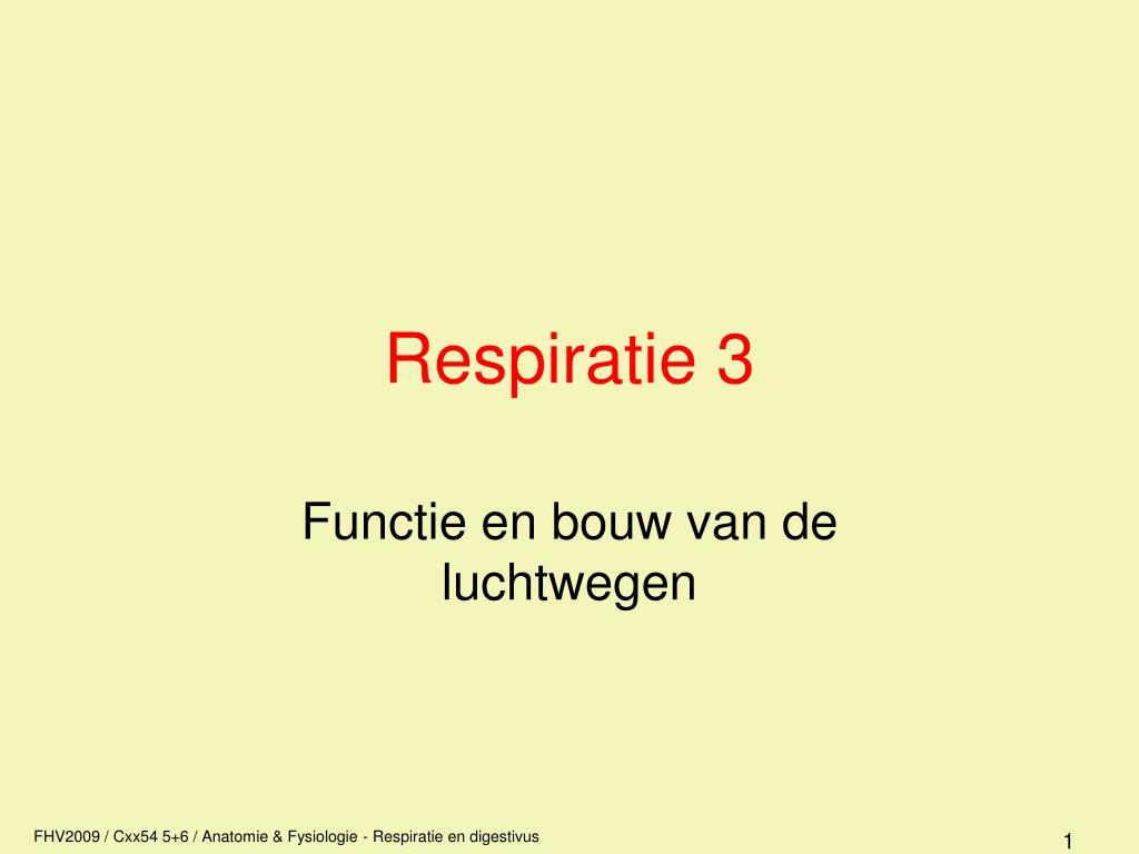 respiratie 3 l.