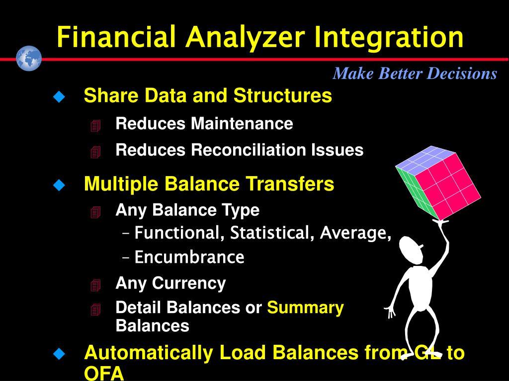 Financial Analyzer Integration