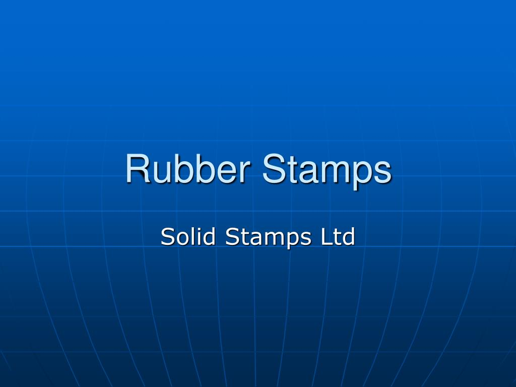 rubber stamps l.