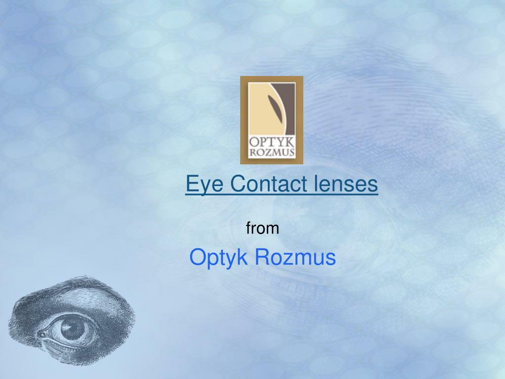 eye contact lenses l.