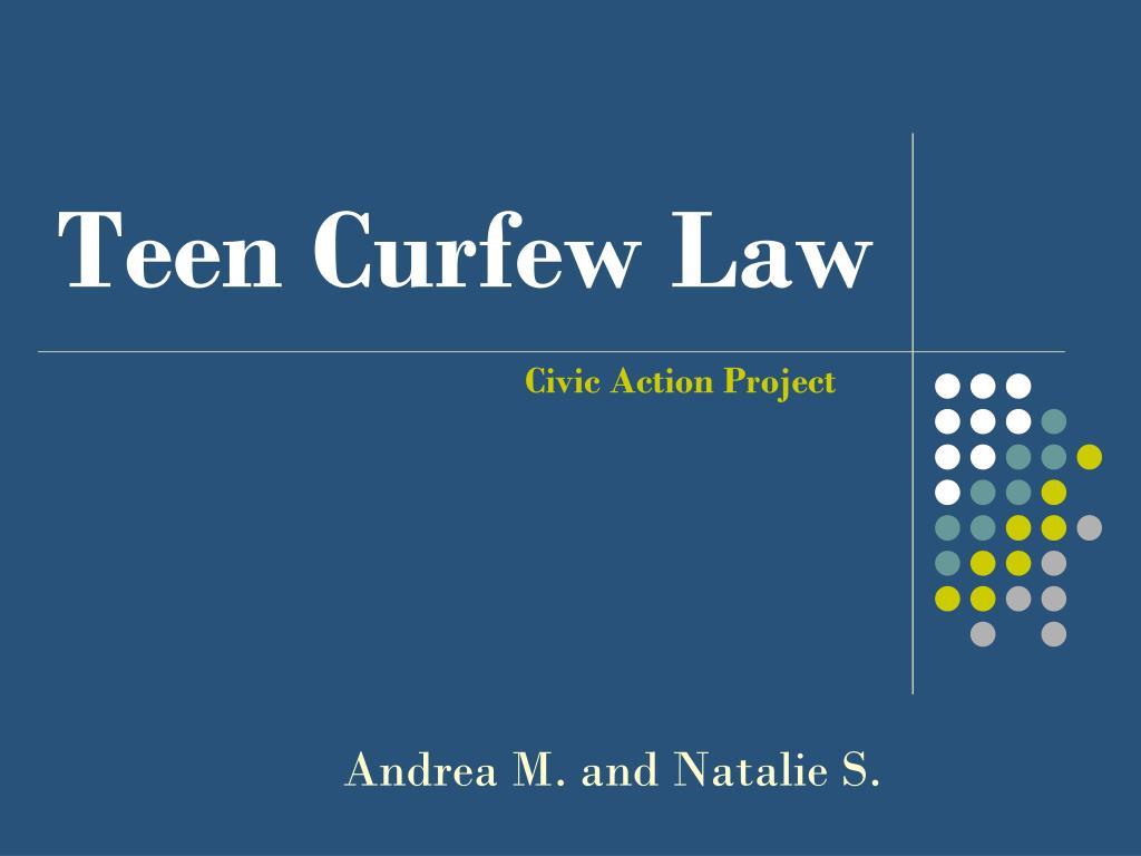teen curfew law l.