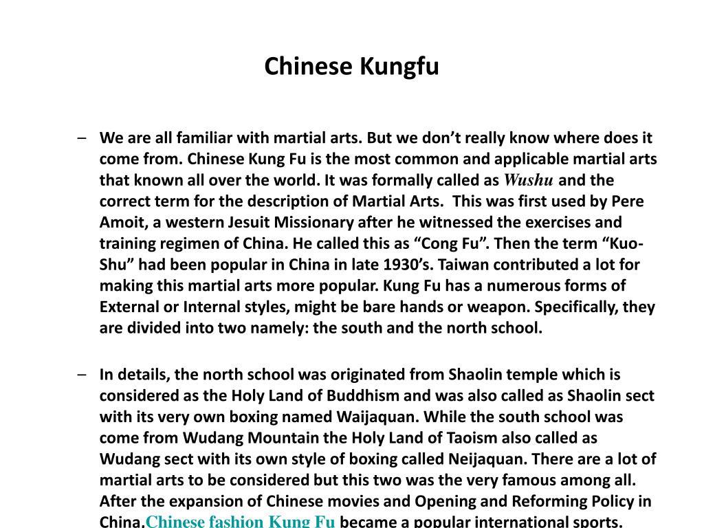 chinese kungfu l.