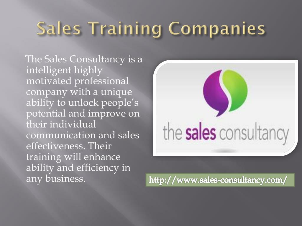 sales training companies l.