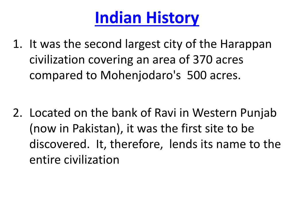 indian history l.