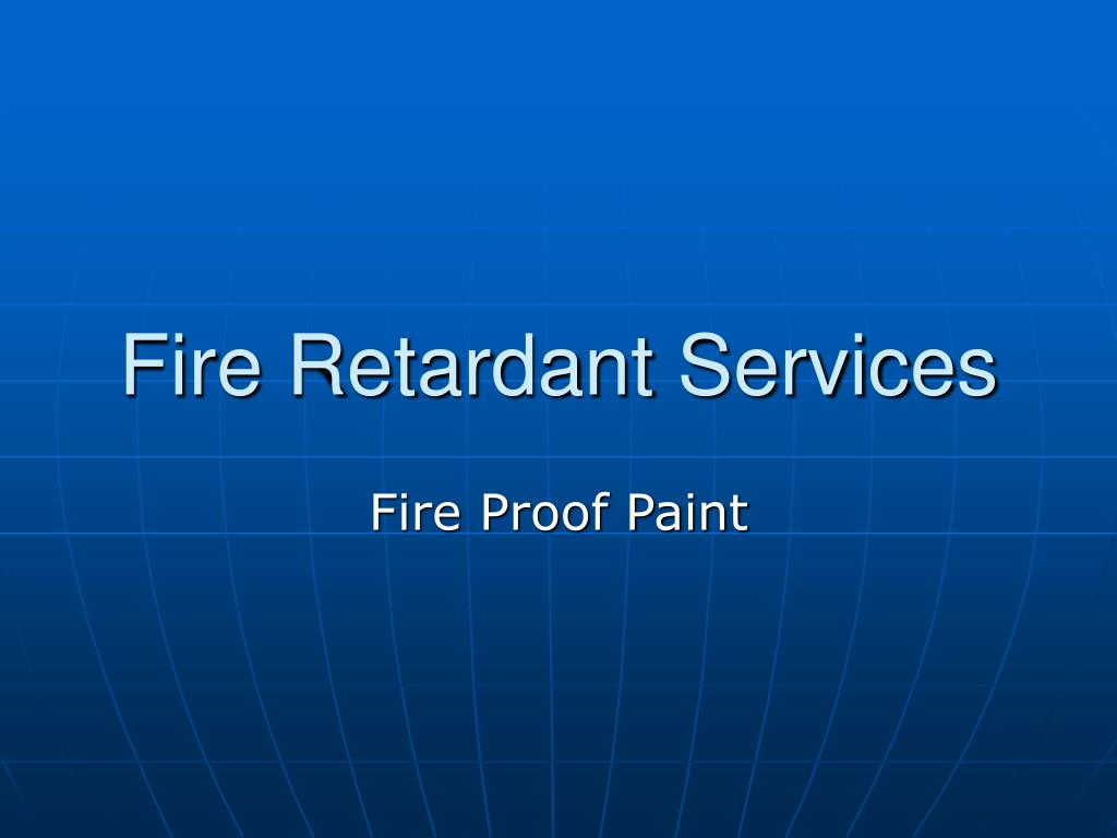 fire retardant services l.