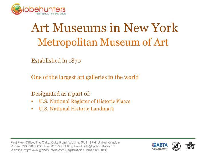 Metropolitan museum of art3