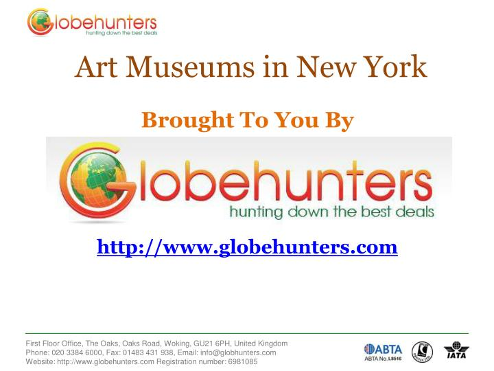 Art Museums in New York